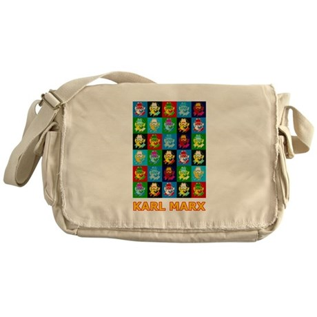 Pop Art Karl Marx Messenger Bag