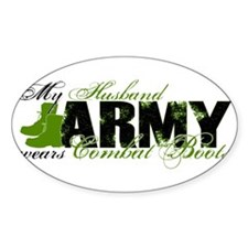 Husband Combat Boots - ARMY Decal