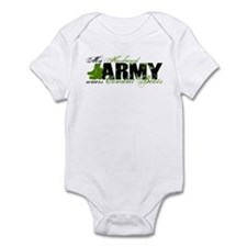 Husband Combat Boots - ARMY Infant Bodysuit