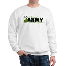 Husband Combat Boots - ARMY Sweatshirt