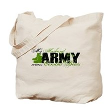 Husband Combat Boots - ARMY Tote Bag