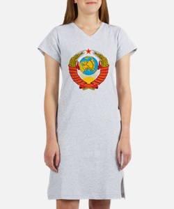 USSR Coat Of Arms Women's Nightshirt