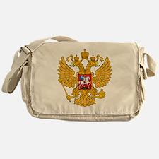 Russia Coat Of Arms Messenger Bag