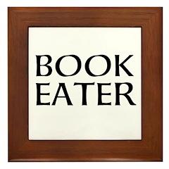 Book Eater Framed Tile