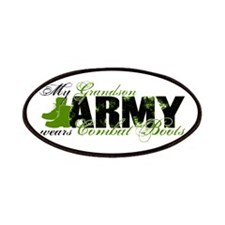 Grandson Combat Boots - ARMY Patches