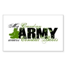 Grandson Combat Boots - ARMY Decal