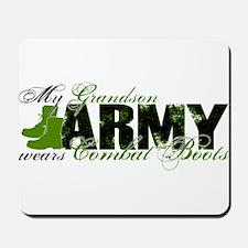 Grandson Combat Boots - ARMY Mousepad