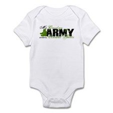 Grandson Combat Boots - ARMY Infant Bodysuit