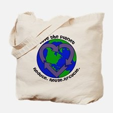 Love the planet Tote Bag