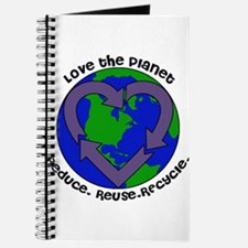 Love the planet Journal