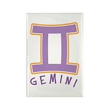 Zodiac Gemini Rectangle Magnet (100 pack)