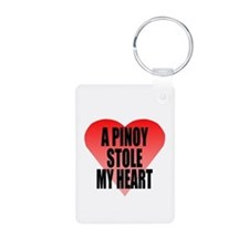 Pinoy Stole My Heart Keychains