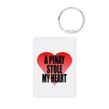 Pinay Stole My Heart Keychains