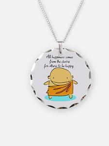 Happiness Buddha Necklace