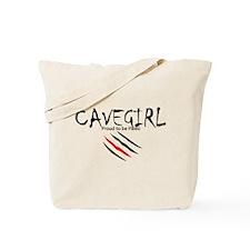 Cavegirl Tote Bag