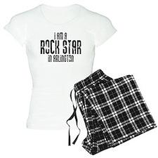 Rock Star In Arlington Pajamas