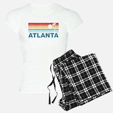 Retro Palm Tree Atlanta Pajamas