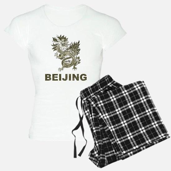Vintage Dragon Beijing Pajamas