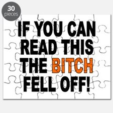 The Bitch Fell Off Puzzle