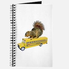 Squirrel on School Bus Journal
