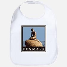 Denmark Little Mermaid Bib