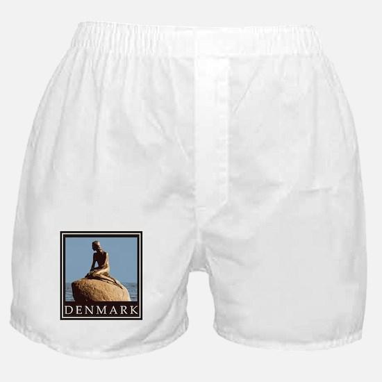 Denmark Little Mermaid Boxer Shorts