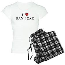 I Love San Jose Pajamas