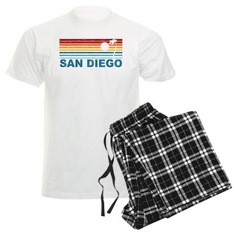 Palm Tree San Diego Men's Light Pajamas