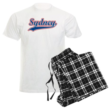 Retro Sydney Men's Light Pajamas