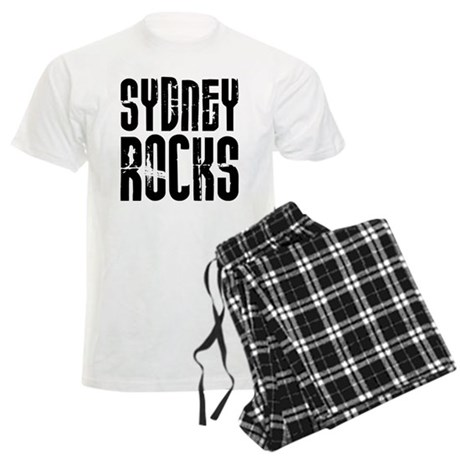 Sydney Rocks Men's Light Pajamas