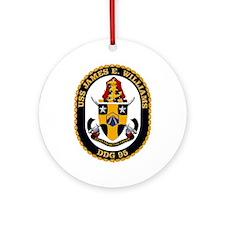 USS James E Williams DDG 95 Ornament (Round)