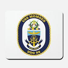 USS Momsen DDG 92 Mousepad