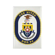 USS Nitze DDG 94 Rectangle Magnet