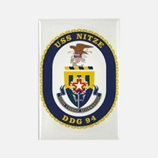 USS Nitze DDG 94 Rectangle Magnet