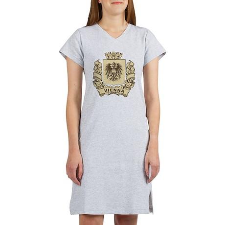 Stylized Vienna Crest Women's Nightshirt