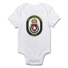 USS Pinckney DDG 91 Infant Creeper