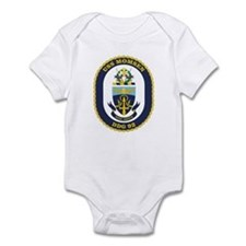 USS Momsen DDG 92 Infant Creeper