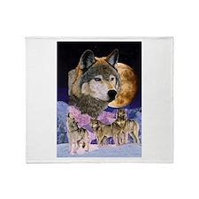 Pack Spirit Throw Blanket
