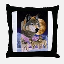 Pack Spirit Throw Pillow