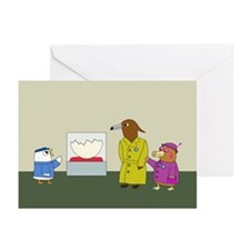 Museum Guide Greeting Cards (Pk of 10)