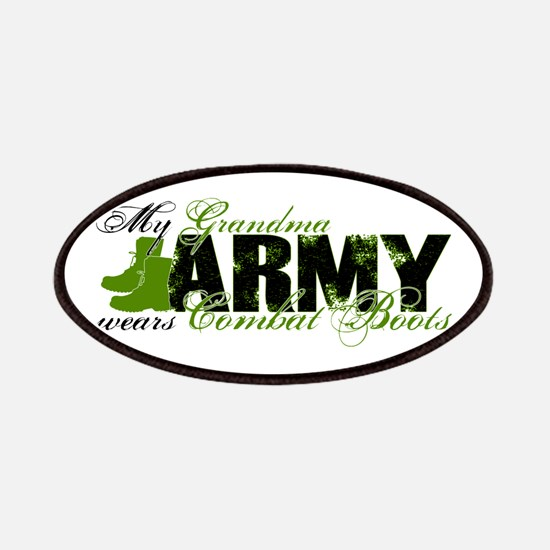 Grandma Combat Boots - ARMY Patches