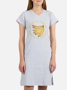 Powered By Banana Women's Nightshirt