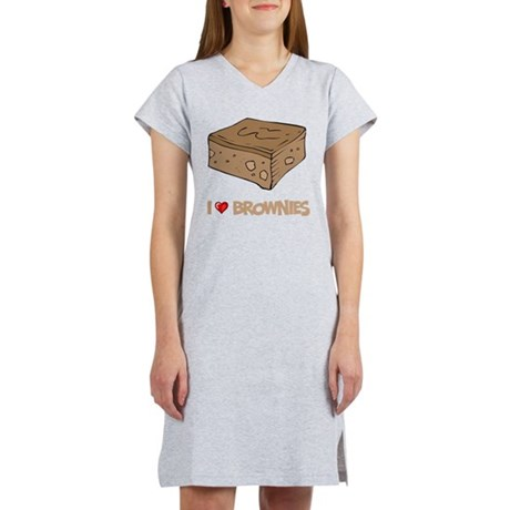 I Love Brownie Women's Nightshirt