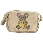 Mouse & Cheese Messenger Bag