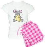 Mouse & Cheese Women's Light Pajamas