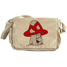 Cute Mushroom Messenger Bag