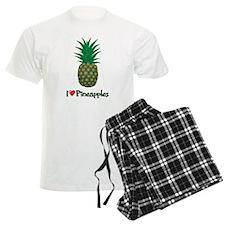 I Love Pineapples Pajamas