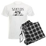 Retro Salad Men's Light Pajamas