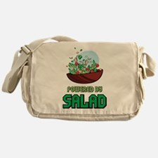 Powered By Salad Messenger Bag