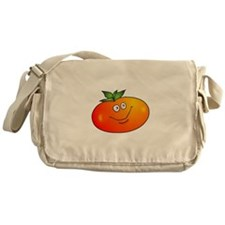 Smiling Tomato Messenger Bag